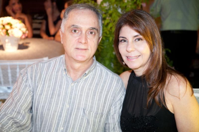 Edgar e Fernanda Jereissati