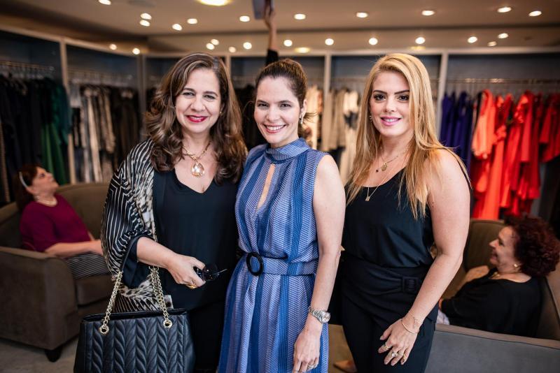 Martinha Assuncao, Cristiana Carneiro e Leticia Studart