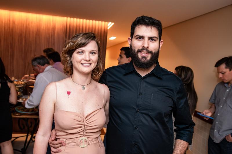 Tatiana Rolim e Teo Pompeu