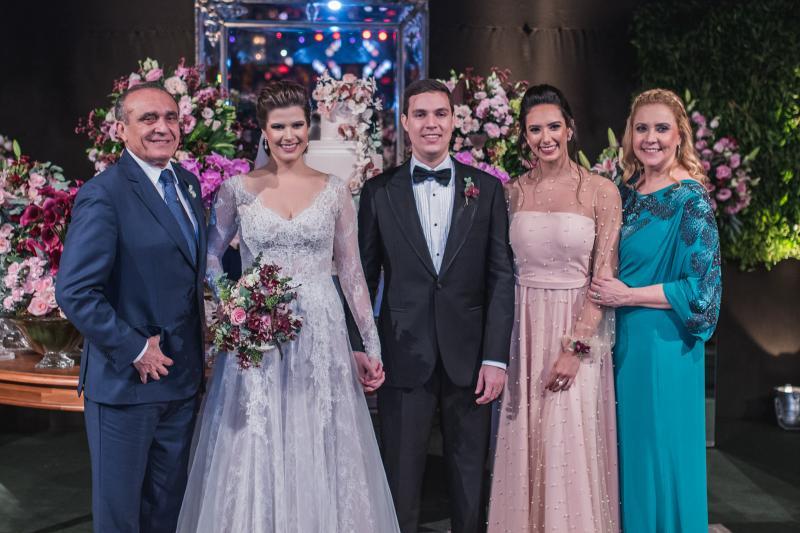 Raimundo Delfino, Ana Maria Bezerra, Paulo Victor Eufrasio, Talita Bezerra e Andre Delfino
