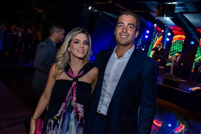 Amanda Tavora e Leonardo Vidal