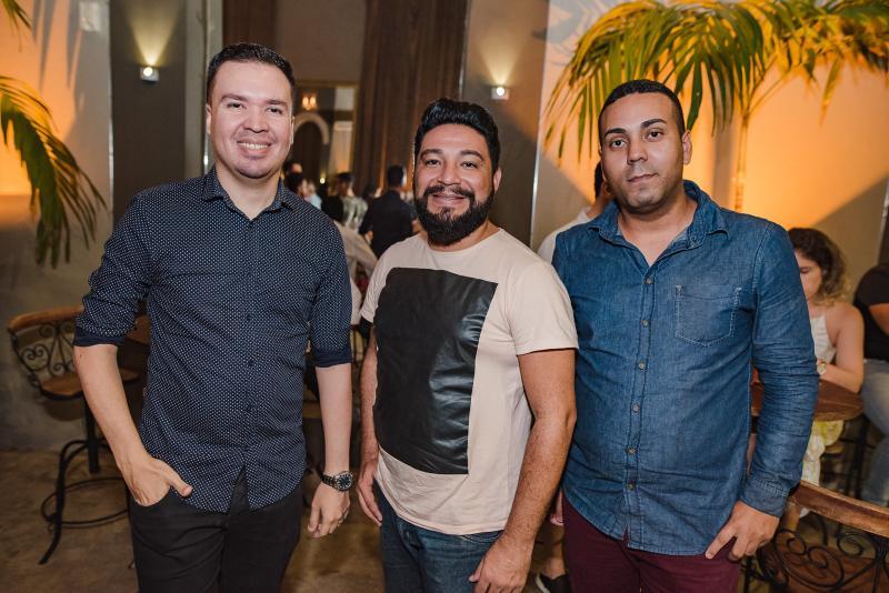 Felix, Joao Araujo e Alessandro Rodrigues