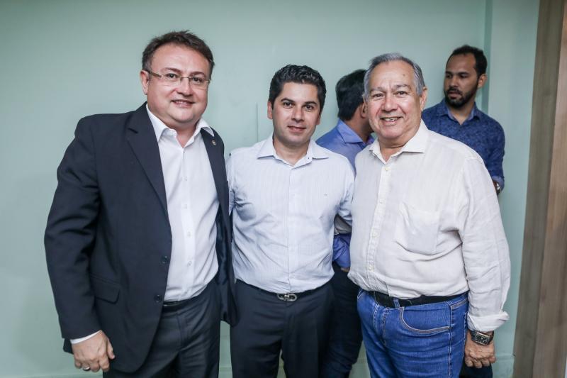 Marcelo Marinho, Pompeu Vasconcelos e Jaime Verçosa