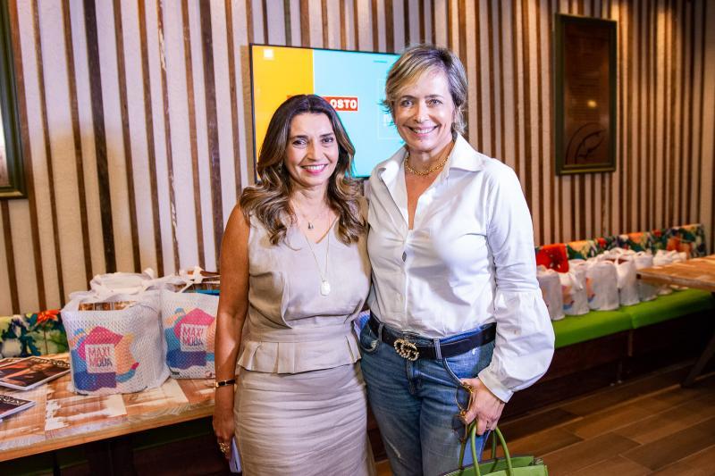 Marcia Travessoni e Andrea Fialho