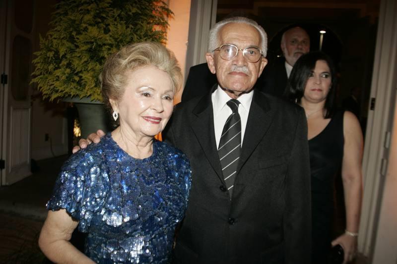 Glaucia e Francisco Maia