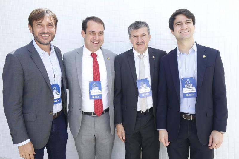 Guilherme Sampaio, Salmito Filho, Antonio Henrique e Pedro Gomes de Matos