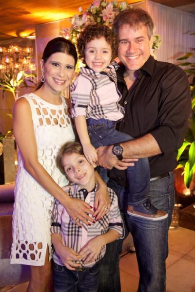 Nicolas, Bruno, Melissa e Igor Martins