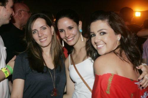 Flavia Machado, Lina Pontes e Manu Campos