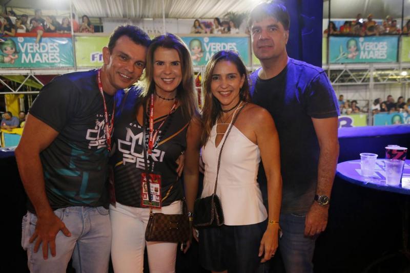Fred e Alexandra Pinto, Karina e Marcelo de Castro