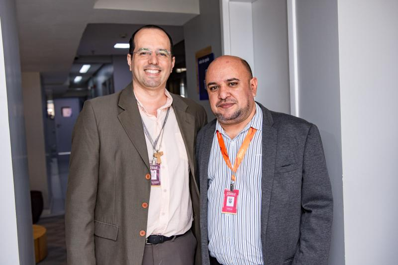 Roberto Rocha e Cleilson Laurentino