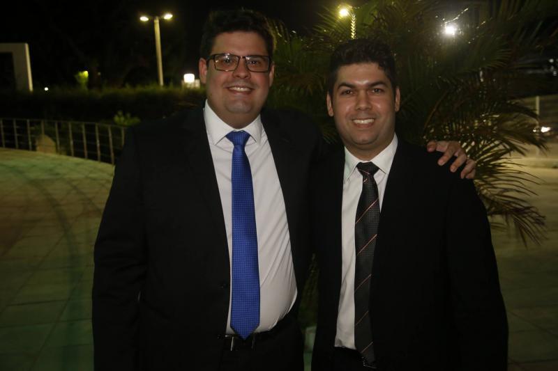 Pedro Fernandes e Mauro Benevides Neto