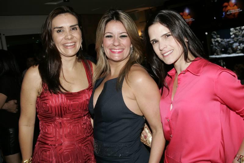 Ann Alcantara, Tatiana Luna e Marilia Vasconcelos