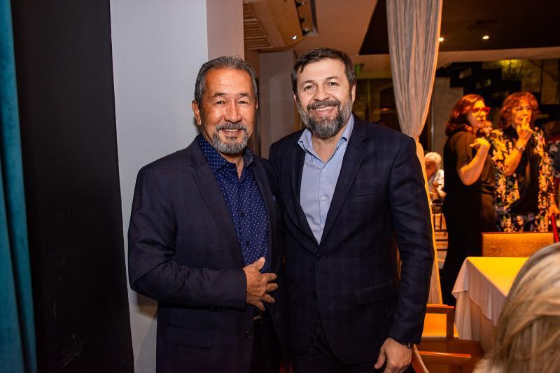 Coronel Romero e Elcio Batista