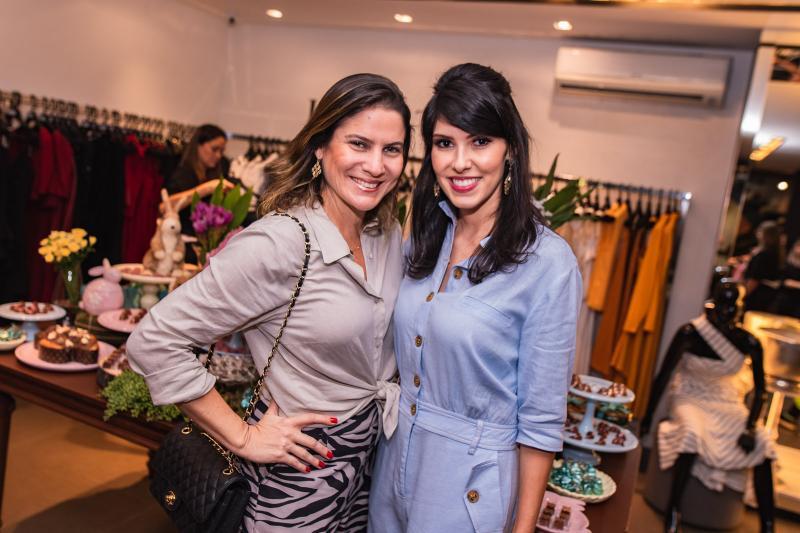 Luciana Borges e Flavia Laprovitera