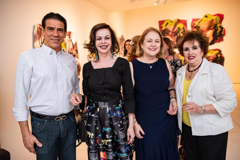 Wilson Loreiro, Glaucia Andrade e Leda Maria