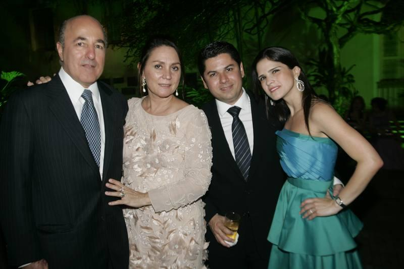 Paula e Silvio Frota, Pompeu e Marilia Vasconcelos