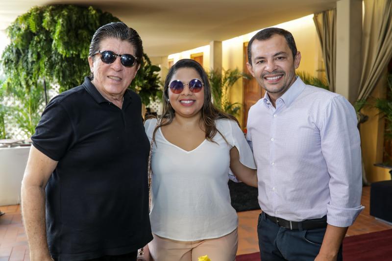 Dito Machado, Brenda Farias e Ed Lucio