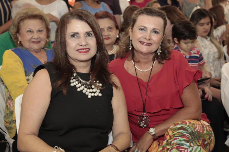 Olga Barbosa e Janice Machado