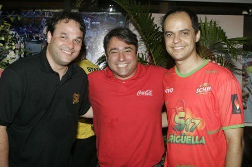Enio Carlos, Jose Walter Manarino e Luiz Lotito