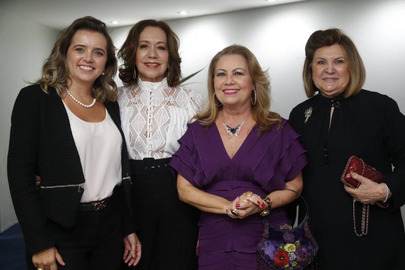 Renata Vasconcelos, Ana Alcantara, Ines Cals e Rejane Fujita