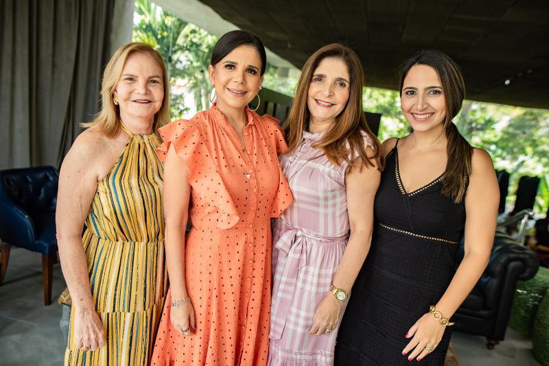 Vera Bizarria, Maria Lucia Negrao, Cristiane Figueiredo e Nathalia Holanda