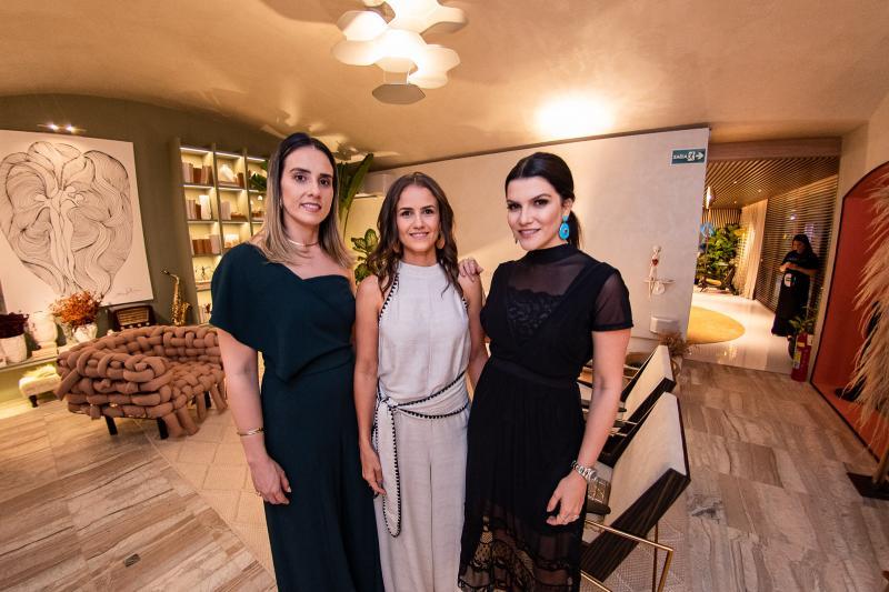 Karine Albuquerque, Andrea Vercosa e Liana Otoch