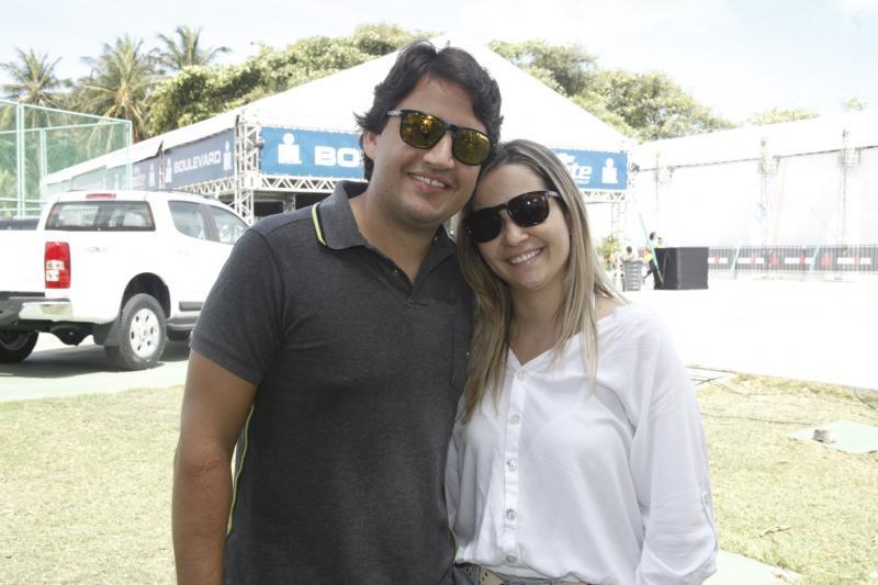 Hugo Fonteles e Maria Augusta Fonteles