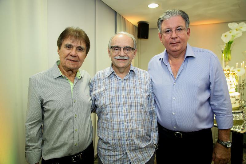 Jorge Parente, Edinilton Soarez e Ricardo Cavalcante