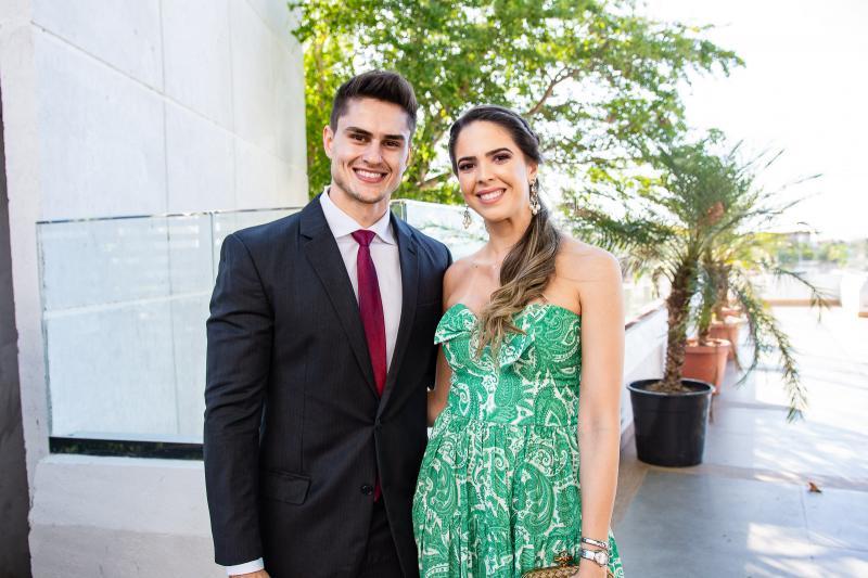 Rodrigo Junqueira e Yasmin Magalhaes