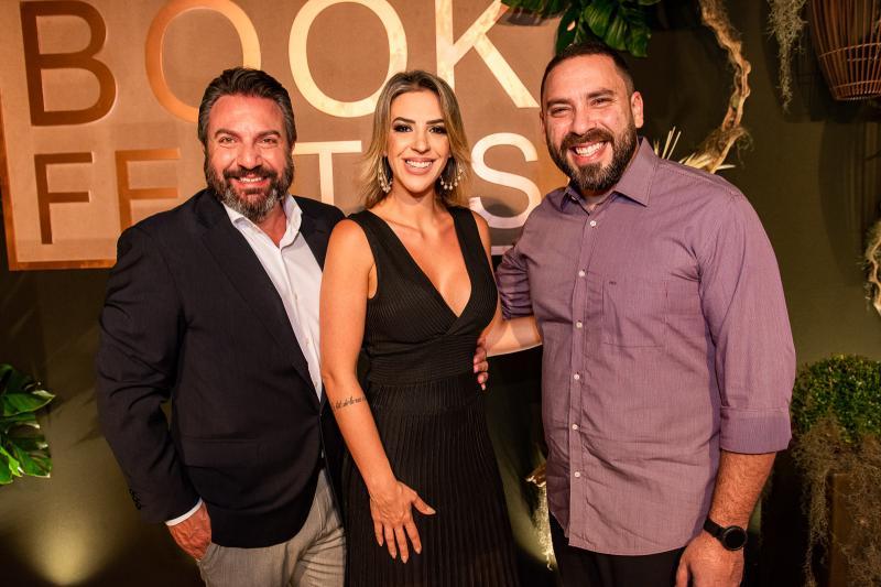 Mario Sergio Garcia, Renata Garcia e Nagib Acario