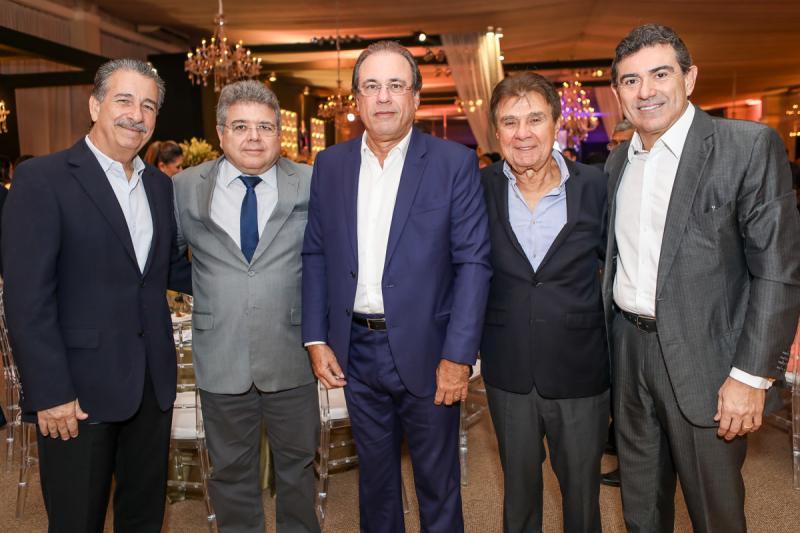 Emilio Ary, Jose Rocha, Claudio Brasil, Jorge Parente e Alexandre Pereira