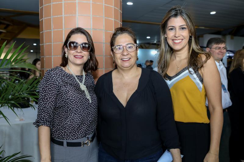 Rocaia Dultra, Ana Xavier e Beatriz Barreira