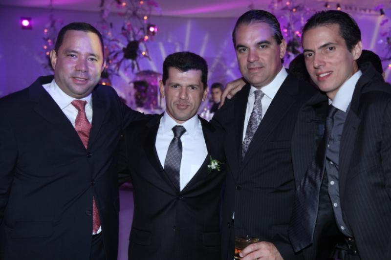 Duduca Fujita, Erick Vasconcelos, Leo Albuquerque e Leo Alcantara