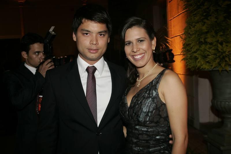 Thiago e Gizela Fugiuara
