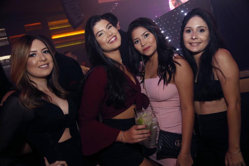 Camila Abreu, Ilina Neves, Jessica Menezes e Samea Ribeiro