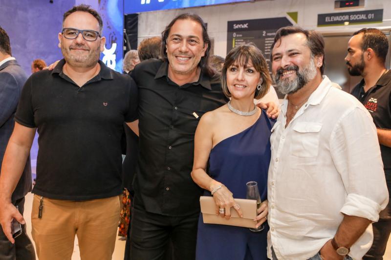 Taiene Rigueto, Rodolphe Trindade, Circe Jane e Joao Lima
