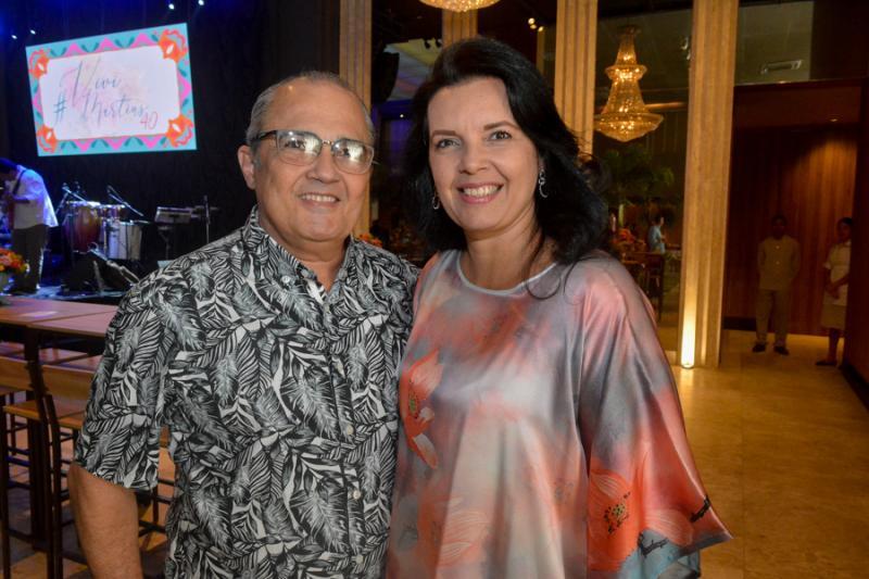 Airton e Debora Siebra