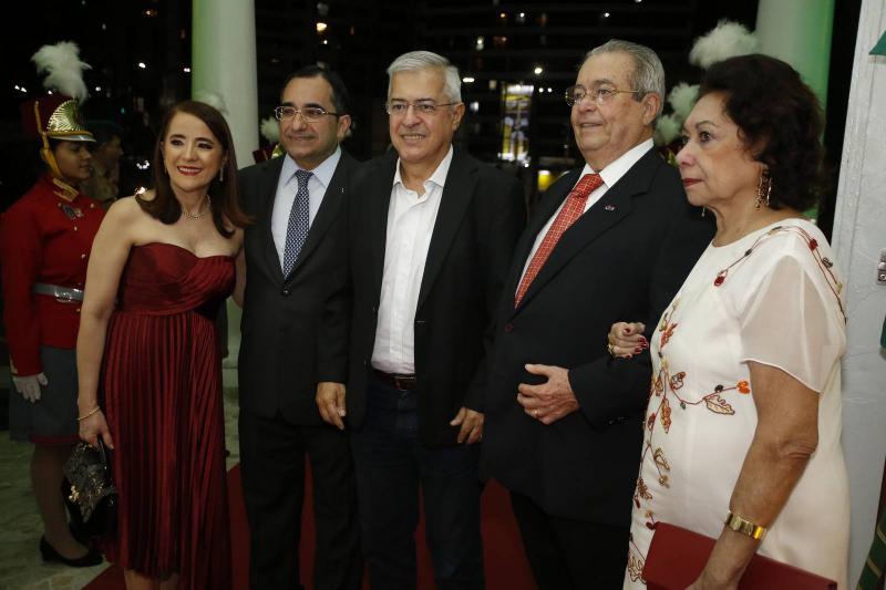 PC Noroes, Fatima Goncalves, Jardson Cruz, Meton Cesar e Yolanda Vasconcelos
