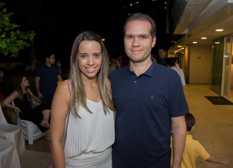 Rafaela e Eduardo Benevides