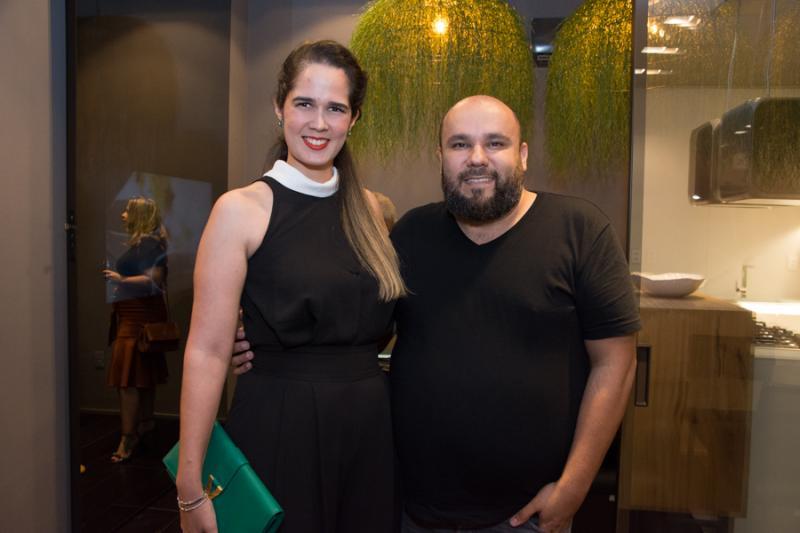 Gisele Oliveira e Erico Monteiro