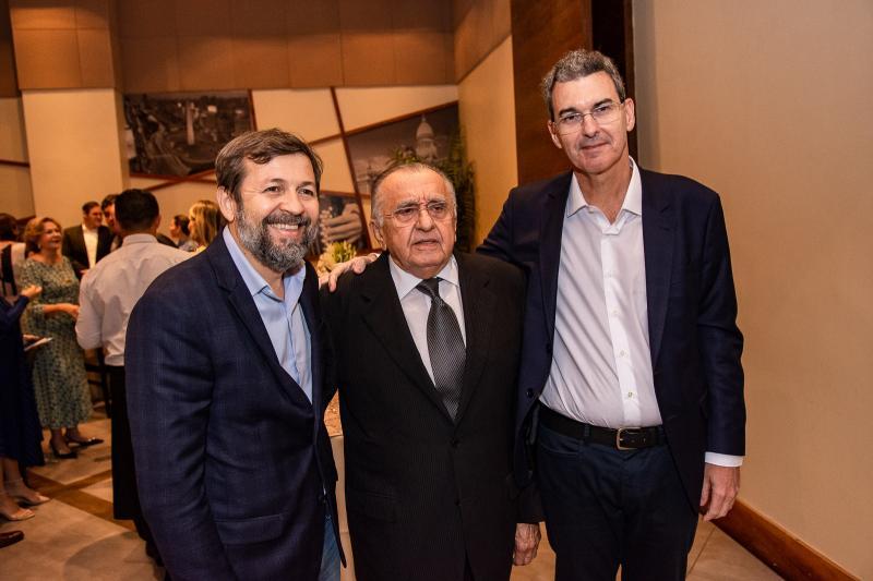 Elcio Batista, Joao Carlos Paes Mendonca e Geraldo Luciano