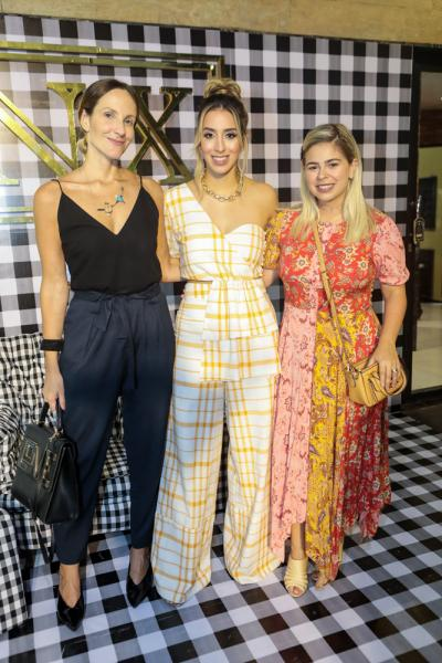 Amanda Medrado, Natalia Ximenes e Mariana Tavora