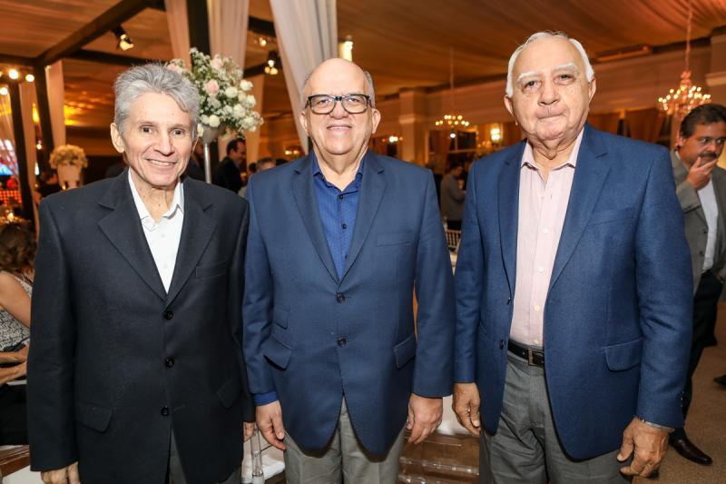 Padua Lopes, Fernando Ximenes e Edosn Silva