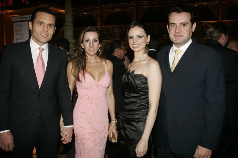 Eduardo e Melania Diogo, Cristina e Fernando Gurgel