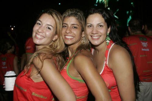 Lili Carneiro, Monica Freitas e Rose Carneiro