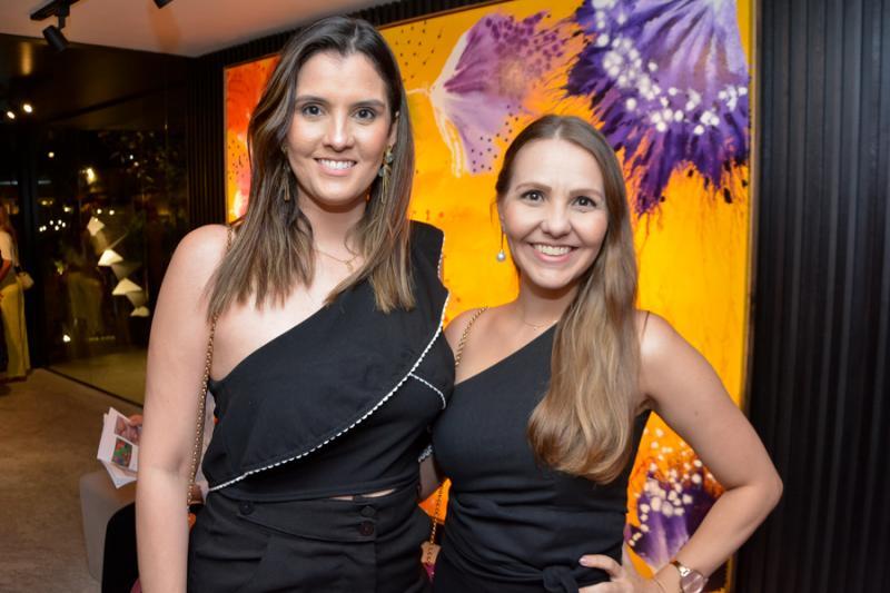 Licia Cardoso e Rafaela Resende