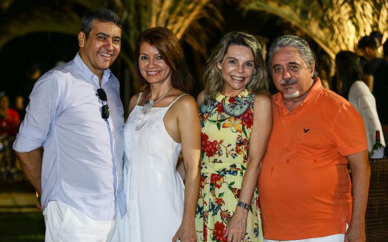Eduardo Morais, Suzane Farias, Lilian Porto e Armando Aguiar