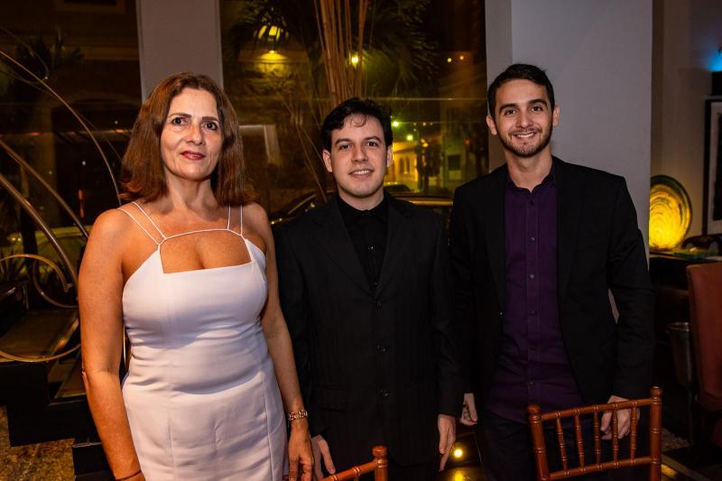 Jaqueline Marinho, Caio Falcao e Lucas Marinho