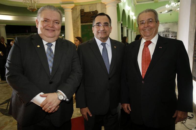 Pedro Jorge Medeiros, Jardson Cruz e Meton Cesar de Vasconcelos