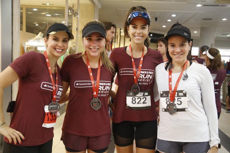 Ingrid Gurgel, Amanda e Alice Diniz e Carol Barbosa